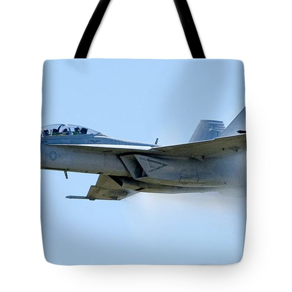 F18 - Barrier Tote Bag by Greg Fortier