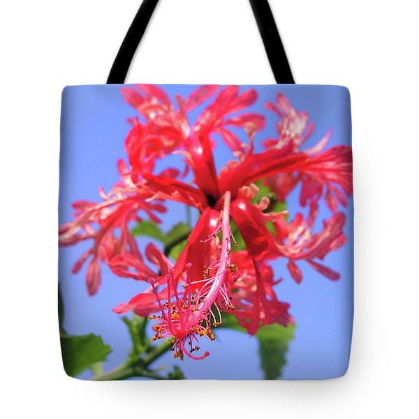 F18 Hawaiian Hibiscus Tote Bag by Donald k Hall