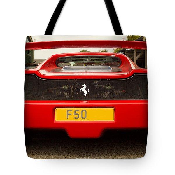 F50 Tail Tote Bag