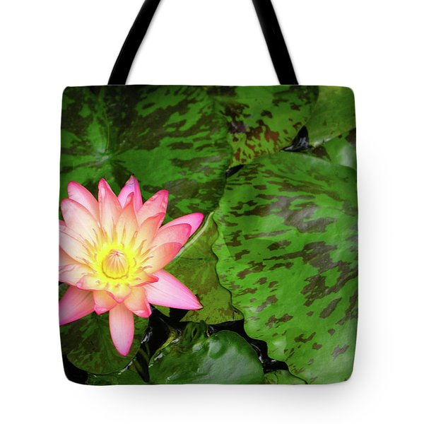 F6 Water Lily Tote Bag by Donald k Hall