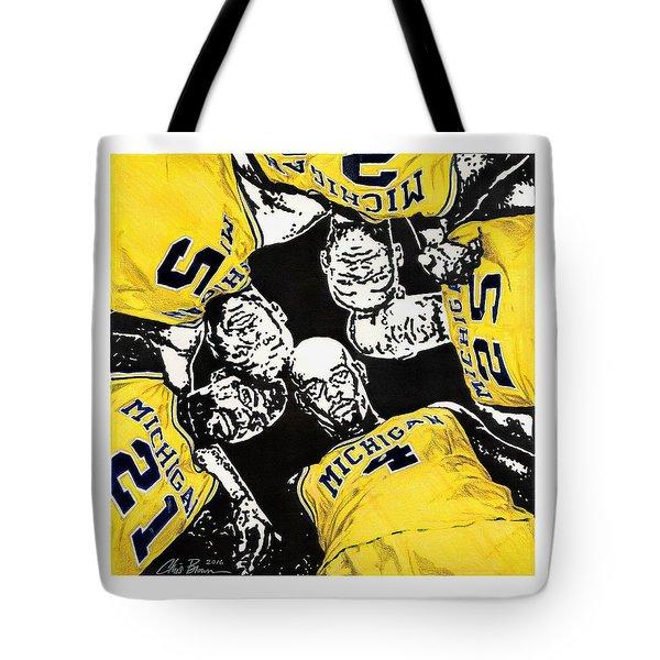 Fab Five At 25 Tote Bag