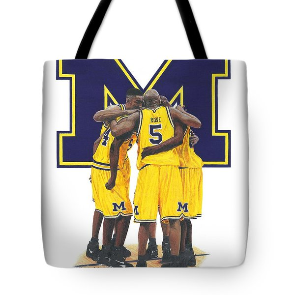 Fab Five Tote Bag