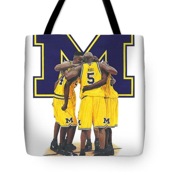 Fab Five Tote Bag