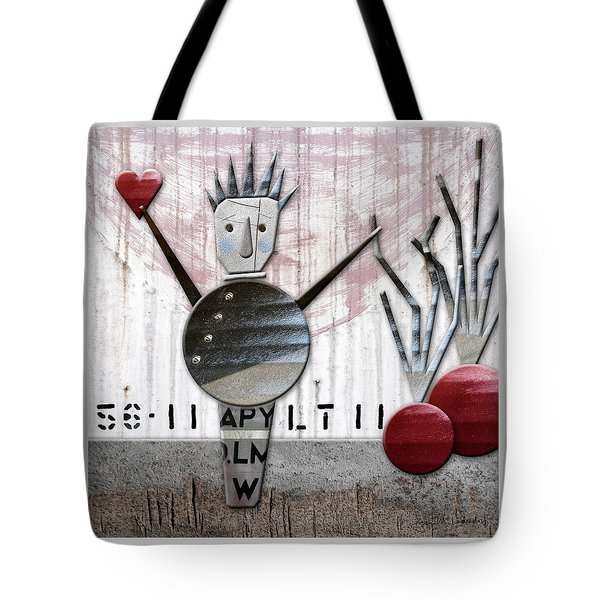Fabio The God Of February Tote Bag by Joan Ladendorf