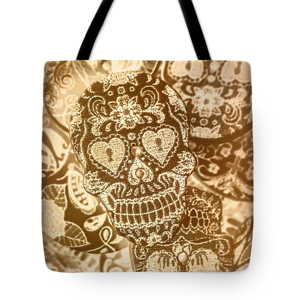 Fabric And Folklore Tote Bag