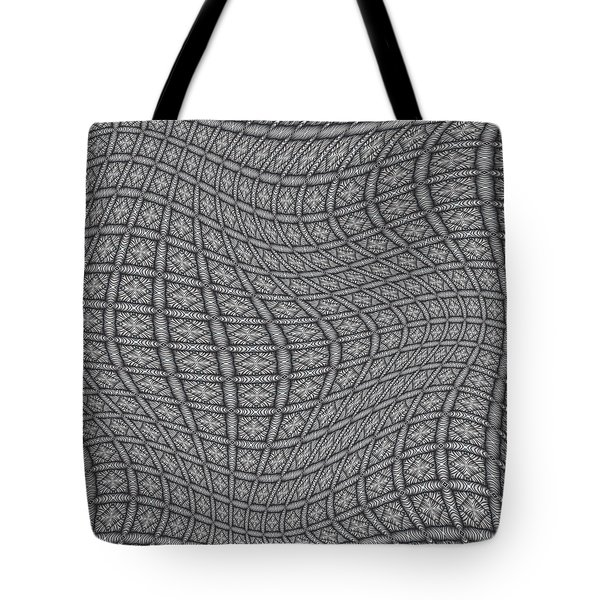 Fabric Design 19 Tote Bag by Karen Musick