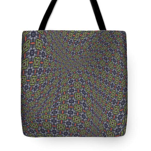 Fabric Design 20 Tote Bag by Karen Musick
