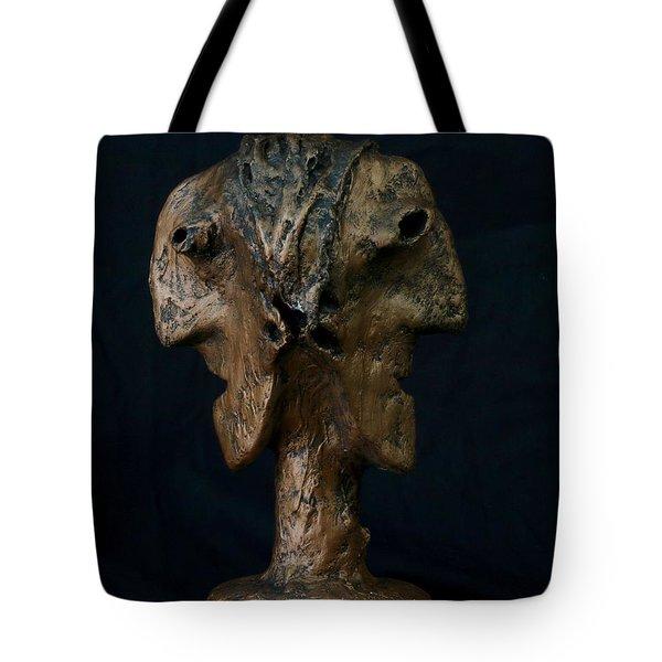 Fabulas Janus Bust  Tote Bag