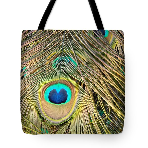 Tote Bag featuring the photograph Fabulous Feathers by Margaret Bobb