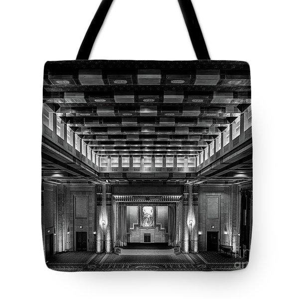 Fabulous Fox Theater Atlanta Egyptian Ballroom Tote Bag