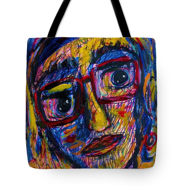 Face 11 Tote Bag by Natalie Holland