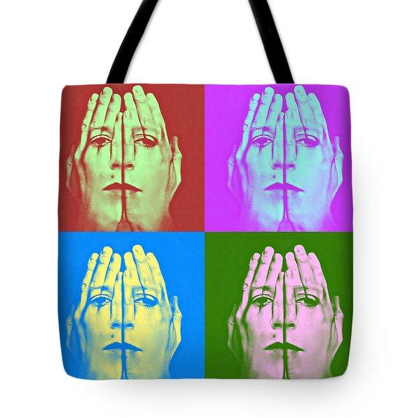 Face Art Tote Bag