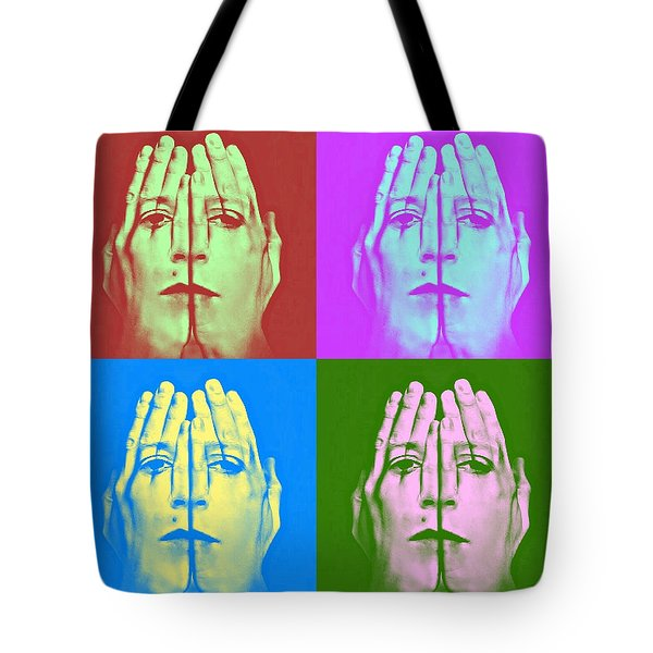 Face Art Tote Bag