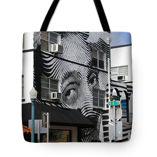 Face Building Tote Bag