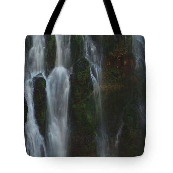 Face In The Falls Tote Bag