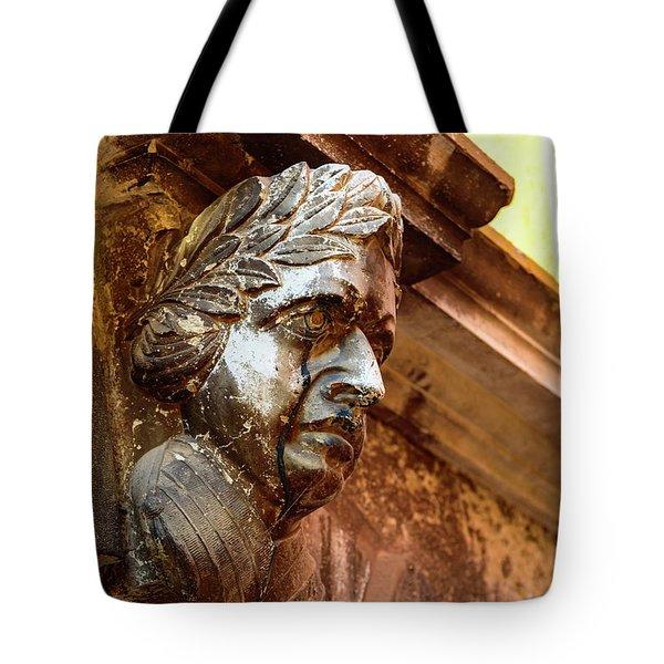 Face In The Streets - Rovinj, Croatia Tote Bag