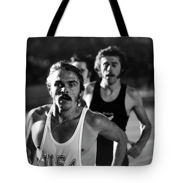 Face Of A Champion Tote Bag