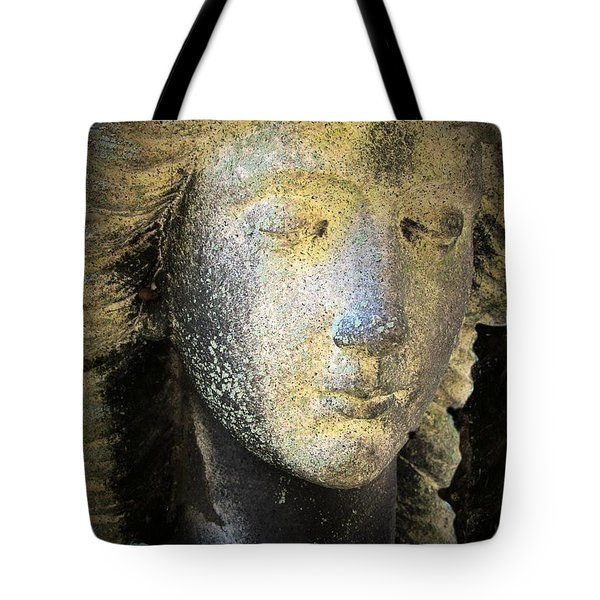 Face Of An Angel 10 Tote Bag by Maria Huntley