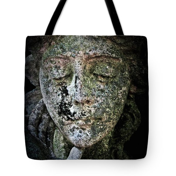 Tote Bag featuring the photograph Face Of An Angel 11 by Maria Huntley