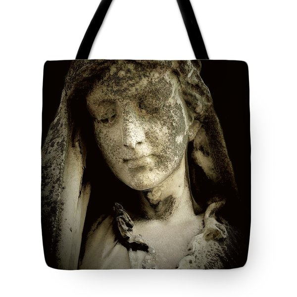 Face Of An Angel 9 Tote Bag by Maria Huntley