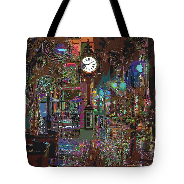 Face Of Color Tote Bag