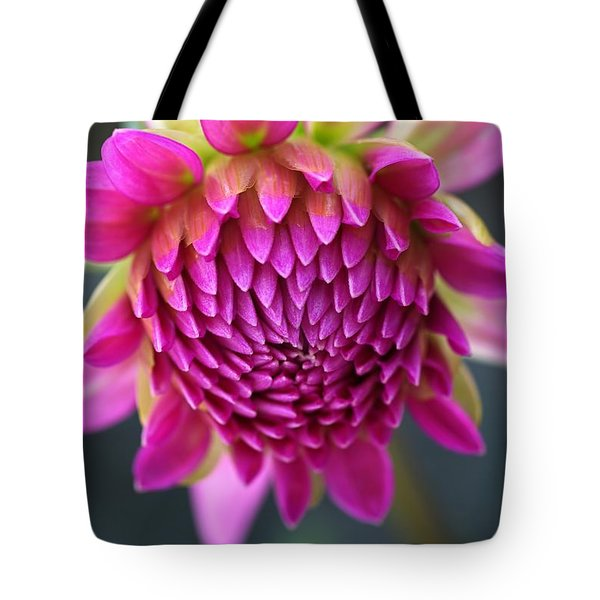 Face Of Dahlia Tote Bag