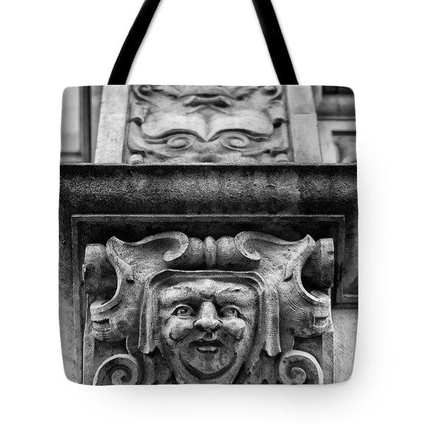 Face Of London Tote Bag