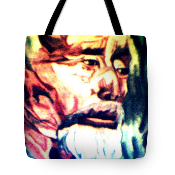 Face Of Strength  Tote Bag by Jo-Ann Hayden