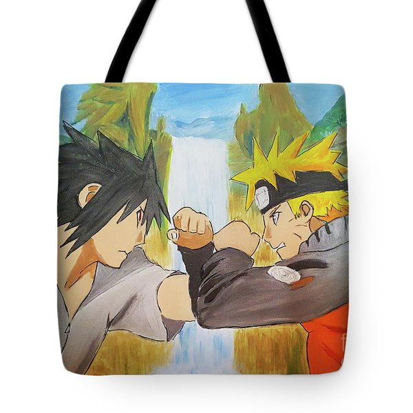 Face-off At The Valley Tote Bag
