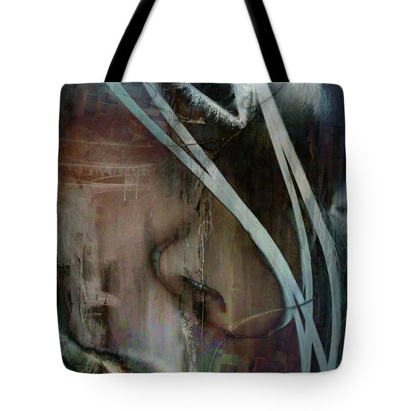 Tote Bag featuring the digital art Face Pop by Greg Sharpe