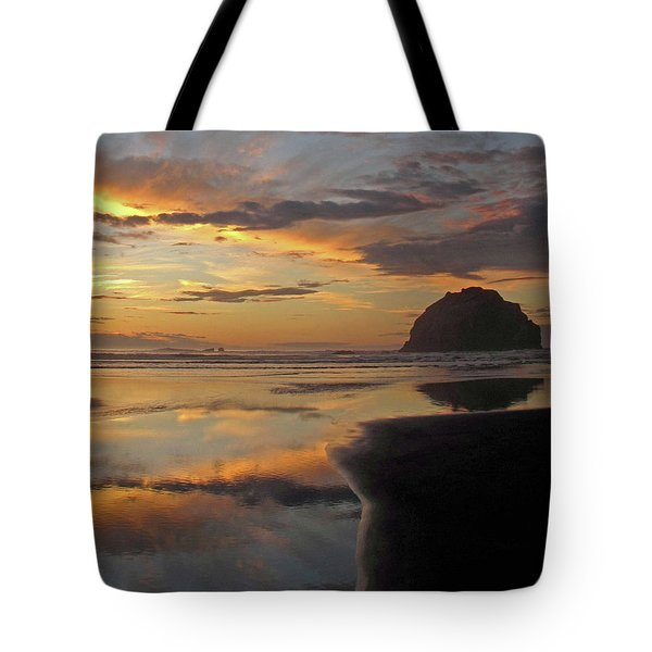 Face Rock Beauty Tote Bag