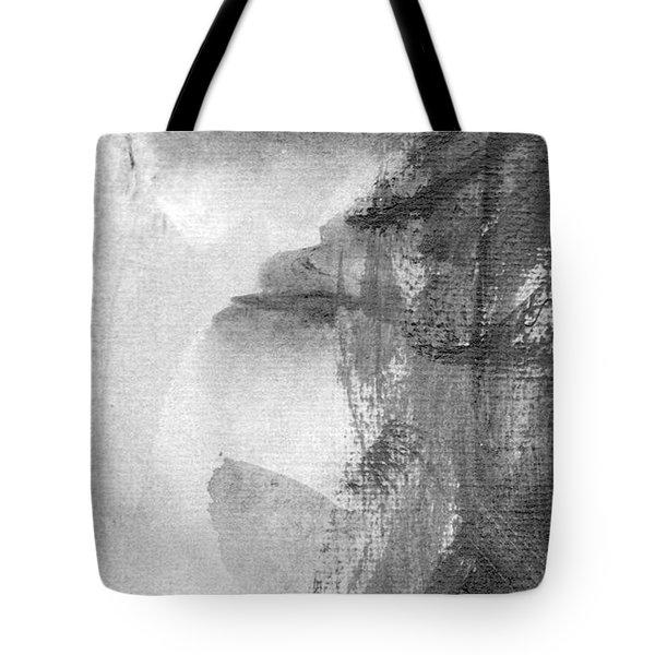 Face Tote Bag by Skip Nall
