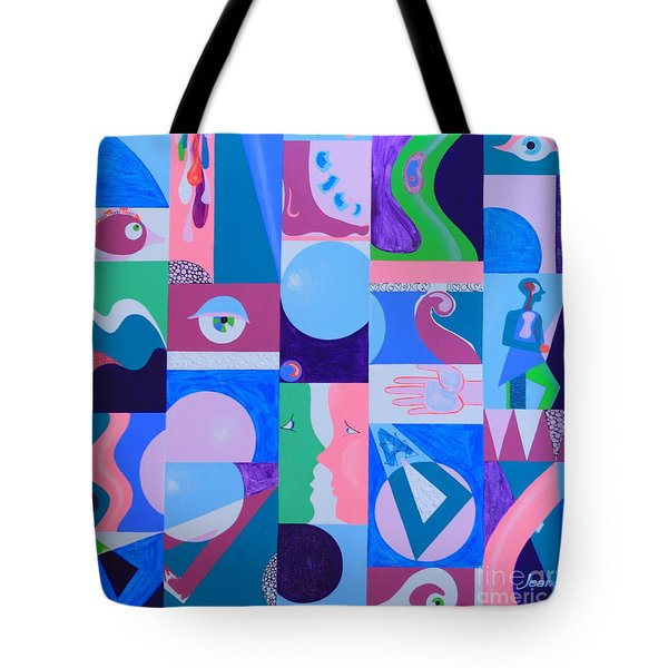 Face-to-face  Tote Bag