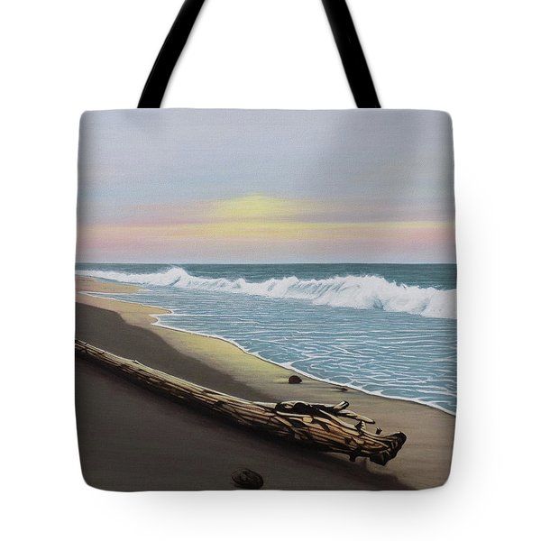 Face To The Morning Tote Bag
