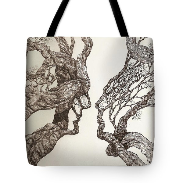 Face Tree 11 Tote Bag