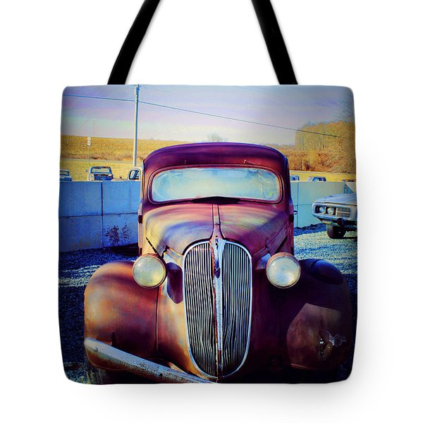Facelift Wanted Car Tote Bag