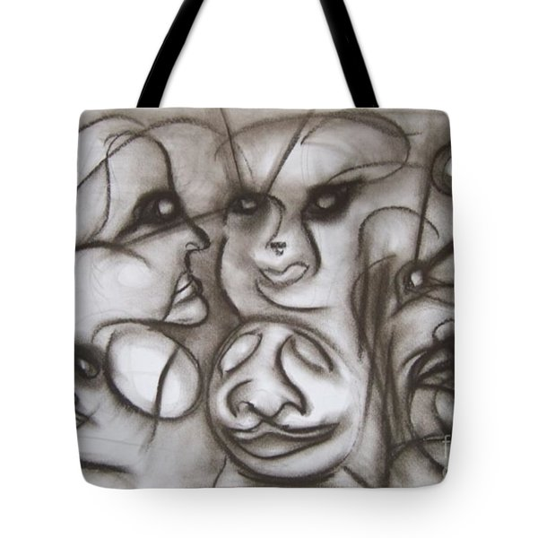 Faces And Places Tote Bag