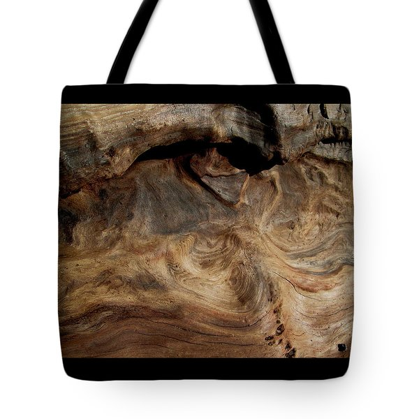 Faces In The Wood #3 Tote Bag