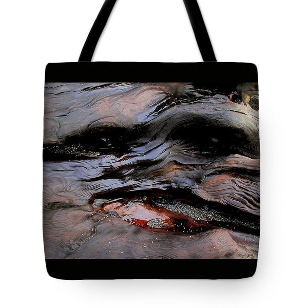 Faces In The Wood #4 Tote Bag