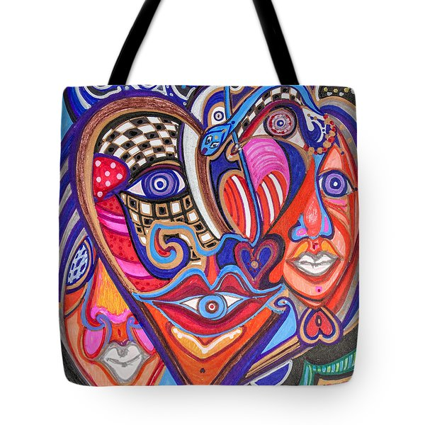 Faces Of Hope Tote Bag