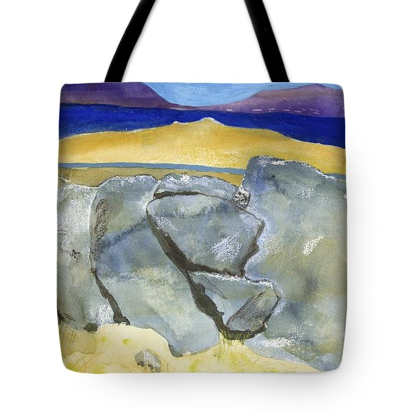 Faces Of The Rocks Tote Bag