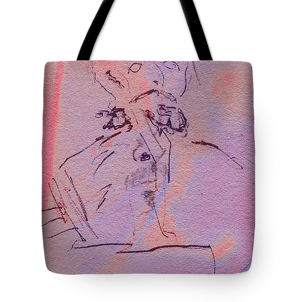 Tote Bag featuring the mixed media Faces Of Trivia by Steve Karol