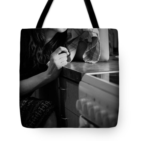 Facing Daily Reality Tote Bag