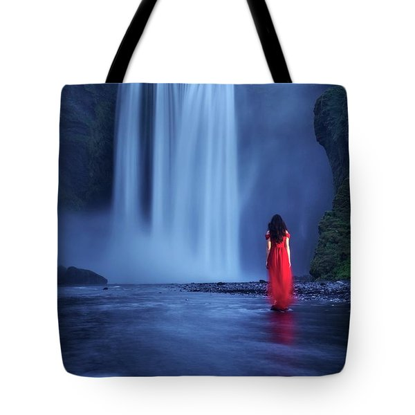 Facing Fear Head-on Tote Bag
