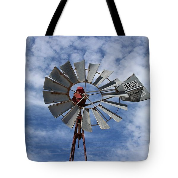 Tote Bag featuring the photograph Facing Into The Breeze by Stephen Mitchell