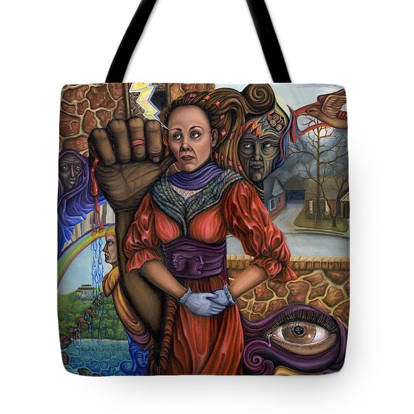 Facing My Reality Tote Bag by Karen Musick