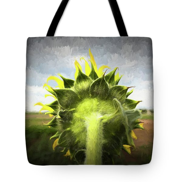 Facing The Day Tote Bag