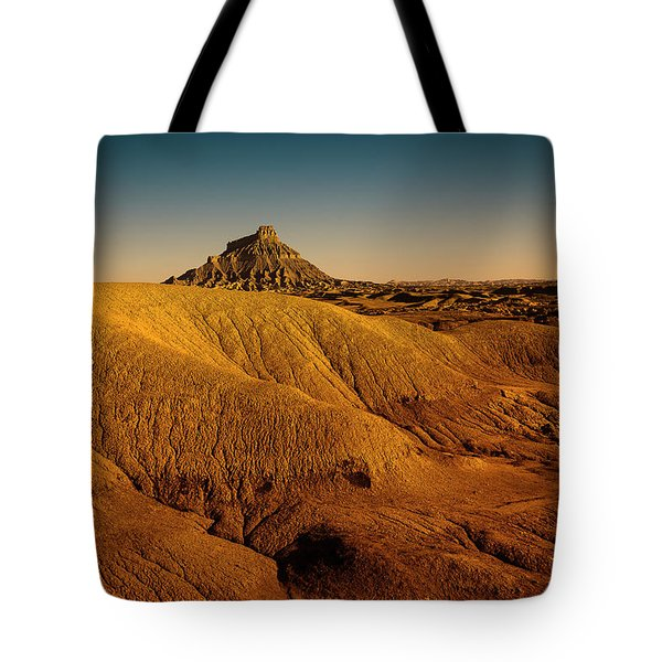 Factory Butte Tote Bag