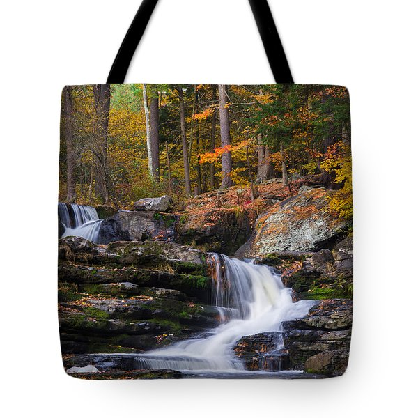 Tote Bag featuring the photograph Factory Falls 2 by Mark Papke