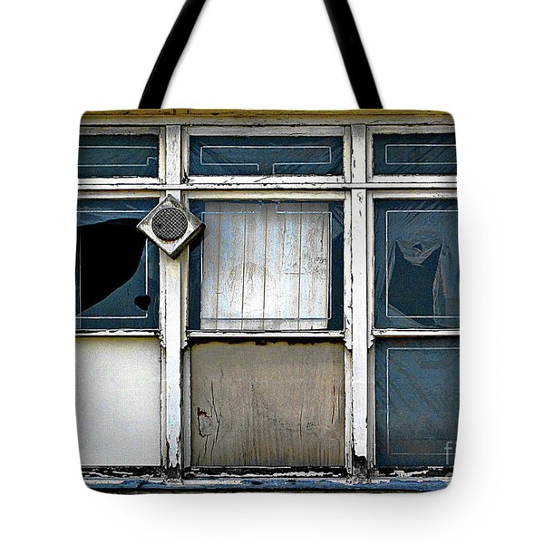 Factory Windows Tote Bag